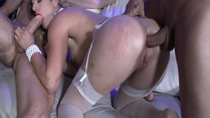 Super hot Mira Sunset ass pounded in sexy lingerie