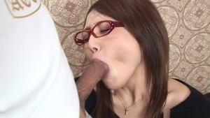 Whore Rino Mizusawa dick sucking XXX video