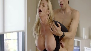 Very sexy Alexis Fawx feels in need of hard ramming