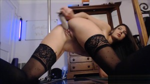 Squirt live on webcam