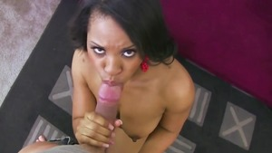 Railing A Boner Makes Her Squeal Noisily