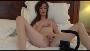 Young tall bisexual couple homemade fisting in hotel