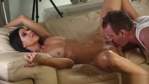 Loud sex along with small boobs Egyptian brunette India Summer